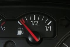Réservoir de carburant vide Photos stock