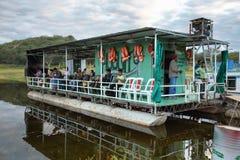 Réservoir de corral de Cabra, Argentine Photos libres de droits