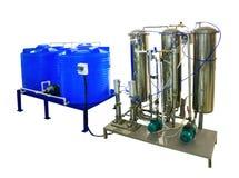 réservoir de coupage et carbonator de mélangeur Images stock
