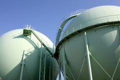 Réservoir de gaz Image libre de droits