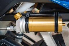 Réservoir de gaz d'amortisseur de Bike's de sport Images libres de droits