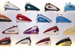 Réservoir de gaz de larme de moto de Harley Davidson photos libres de droits
