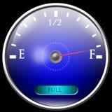 Réservoir de gaz presque plein Image stock