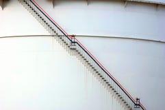 Réservoir de gaz Réservoir de stockage du combustible Images stock