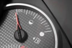 Réservoir de gaz vide Photographie stock libre de droits