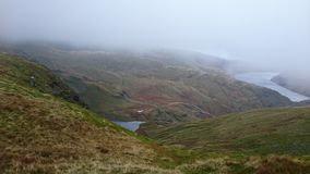 Réservoir de Haweswater, parc national de secteur anglais de lac Image libre de droits