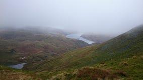 Réservoir de Haweswater, parc national de secteur anglais de lac Photos libres de droits