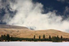 Réservoir de l'hiver Photo stock