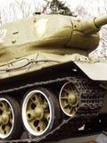 Réservoir de la deuxième guerre mondiale Images libres de droits