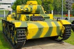 Réservoir de la deuxième guerre mondiale Image libre de droits