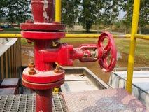 Réservoir de la soute c de stockage à l'intérieur de la salle d'huile usagée photo libre de droits