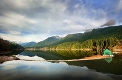 Réservoir de lac Capilano Images libres de droits