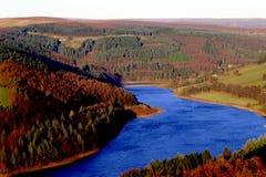 Réservoir de Ladybower, Derbyshire, R-U images libres de droits