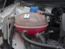 Réservoir de liquide réfrigérant photographie stock
