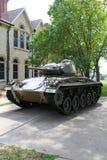 Réservoir de M24 Chaffee image stock