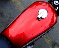 Réservoir de moto Photographie stock libre de droits