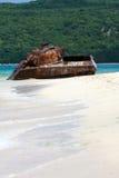 Réservoir de plage de flamenco du Porto Rico photographie stock libre de droits
