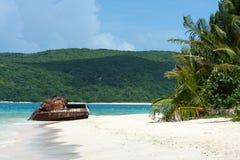 Réservoir de plage du Porto Rico Photographie stock libre de droits