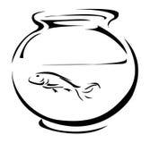 Réservoir de poissons Photo stock