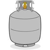 Réservoir de propane illustration libre de droits