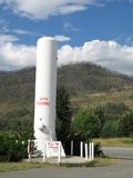 Réservoir de propane Photos libres de droits