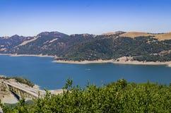 Réservoir de Sonoma de lac image libre de droits