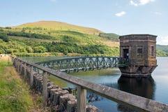 Réservoir de Talybont pendant l'été au Pays de Galles Photo libre de droits