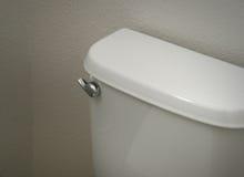 Réservoir de toilette Photographie stock libre de droits