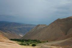 Réservoir de Toktogul Image libre de droits