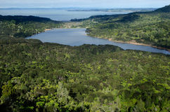 Réservoir de Waitakere - Nouvelle-Zélande Image libre de droits