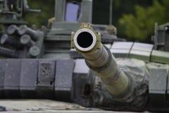Réservoir du canon T-72 Photographie stock
