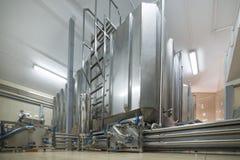 Réservoir en acier rectangulaire Photo stock