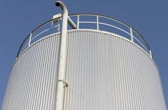 Réservoir gris Photo stock