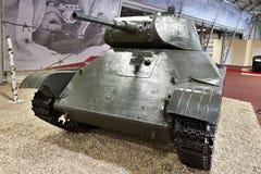 Réservoir léger soviétique T-50 Photos stock