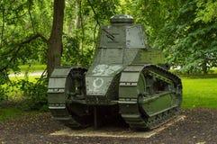 Réservoir M1917 léger Images libres de droits