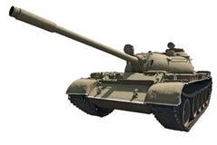 Réservoir moyen soviétique T-55 Images stock