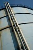 Réservoir rouillé d'Aqua Photos stock