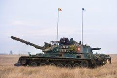 Réservoir roumain TR 85M 'Bizonul' Images stock