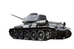 Réservoir russe T34 Photo stock