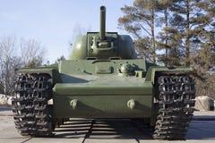 Réservoir soviétique Photo libre de droits