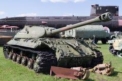 Réservoir soviétique des périodes de la deuxième guerre mondiale Image libre de droits
