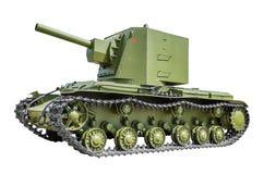 Réservoir soviétique KV2 image stock