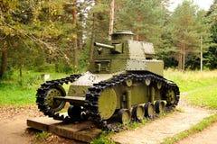 Réservoir soviétique T-18 Photos libres de droits