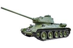 Réservoir soviétique T-34/85 Photographie stock