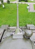 Réservoir soviétique T-54 de tour Image libre de droits