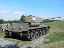 Réservoir t-34 Photo stock