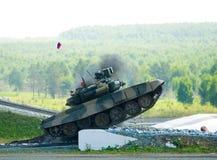 Réservoir T-80 images libres de droits