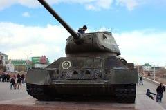 Réservoir T-34 Photographie stock