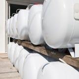 Réservoirs à gaz Photographie stock