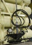 Réservoirs à gaz sur le véhicule de LPG Images libres de droits